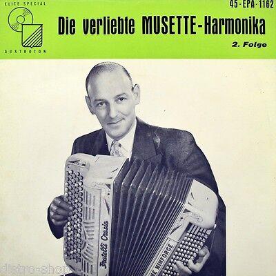 """7"""" RENE NINFORGE Die verliebte Musette-Harmonika 2. Folge ELITE-SPECIAL EP 1959"""