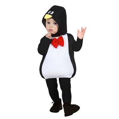 PUFFY KINDER PINGUIN KOSTÜM Kleinkinder Mädchen Jungen Tierkostüm 80/92/98 - Kleinkind Mädchen Tier Kostüm