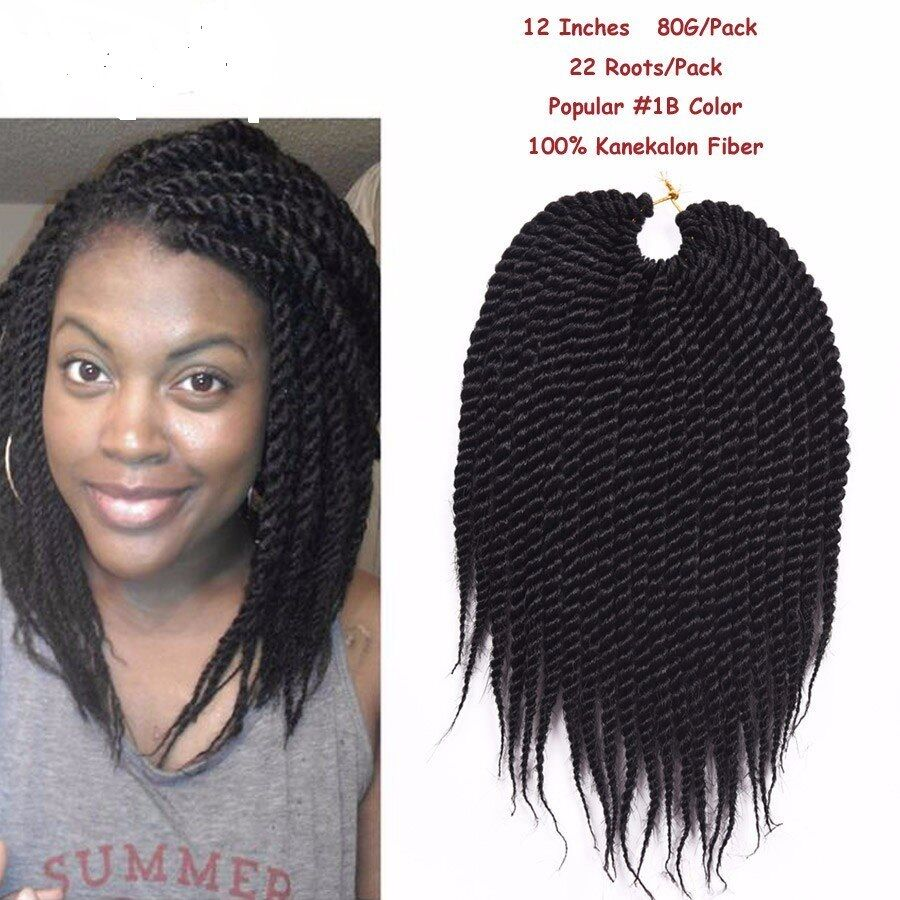 12 Inch 22rootspack Havana Mambo Twist Crochet Braid Braids Hair
