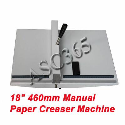 18 Scoring Paper Creasing Machine Folding Machine Creaser Manual Clean Folding
