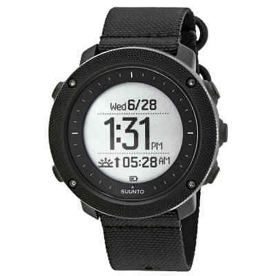 Suunto Traverse Alpha Stealth Men's GPS Fishing and Hunting Watch SS022469000
