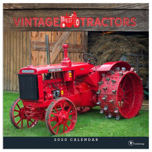 2020 Vintage Tractors Wall Calendar