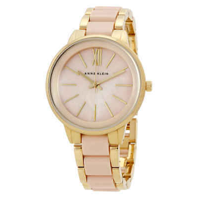 Anne Klein Pink MOP Dial Ladies Watch 1412BMGB