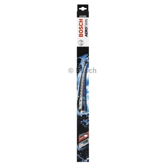 BOSCH AEROTWIN WIPER BLADE SET FOR FIAT 500 Abarth 1.4L TURBO 2011-ON