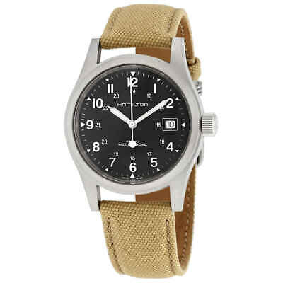 Hamilton Khaki Field Hand Wind Black Dial Men's Watch H69439933