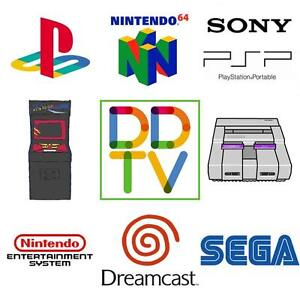 ULTIMATE RETRO GAMING BOX, 10,000 GAMES, ARCADE, SNES, NES, N64, PS1, PSP, SEGA GENESIS, DREAMCAST, DDTV, FREE SHIPPING!