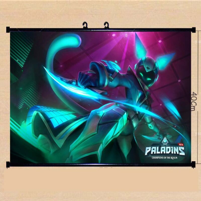 Video Game Paladins Maeve Raeve Silk Poster/Wallpaper 24 X 16 inches