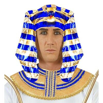 PHARAONEN HUT # Pharao Ägypter Tutanchamun König Kopfschmuck Kostüm Party - Ägyptischer Kopfschmuck Kostüm