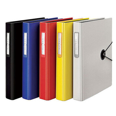 A4 D-ring Binder 3 Holes Punching File Folder Document Filing Book