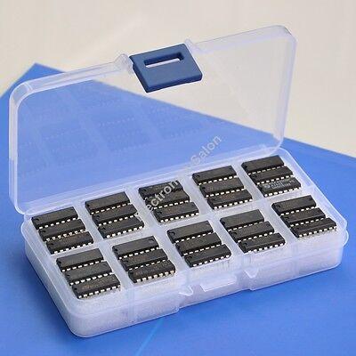 30 Kinds 4000 Series Cmos Logic Ic Assortment Kit.