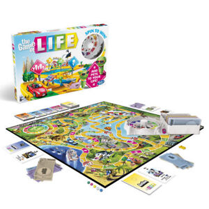 The Game of Life Board Game 2019 New Edition Family Party Fun Time