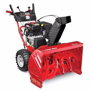 "Troy Bilt 33"" Snowblowers!  Best price of the season right now until stock is gone! WE pay the TAX!"