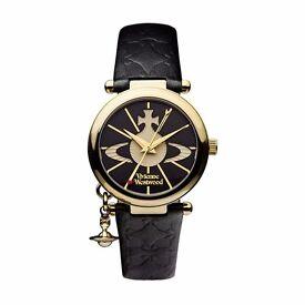 Vivienne Westwood ladies Orb strap watch - £120
