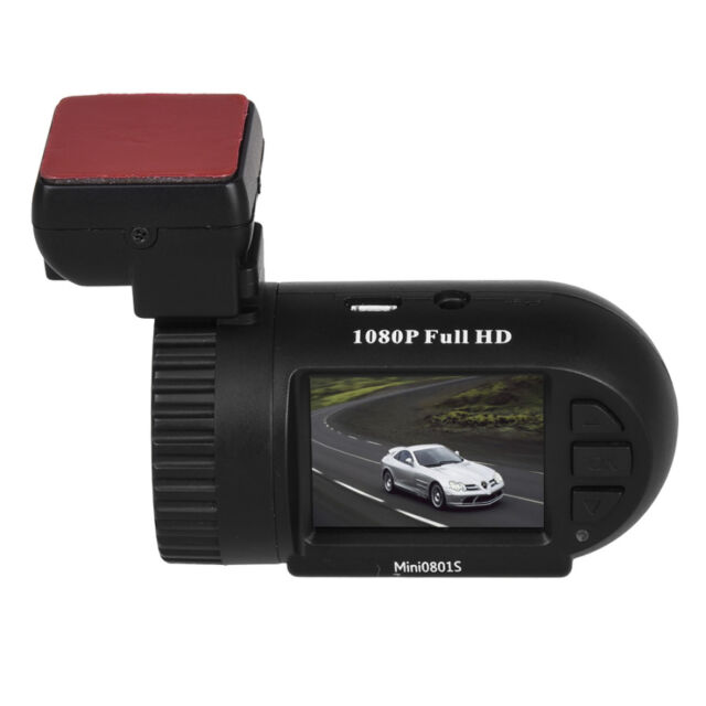 0801S Full HD 1080P Car Dash Cam Dashcam Video Recording GPS Camera DVR S1W Mini