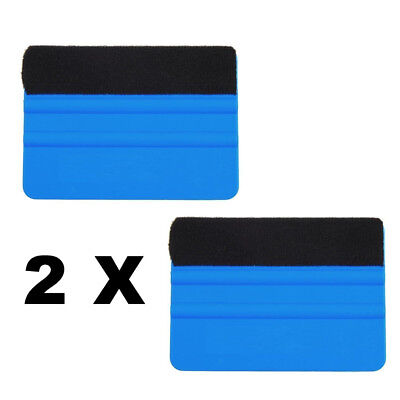 2 X Felt Squeegee Vinyl Installation Applicators Sign Making Graphic Wall Wrap