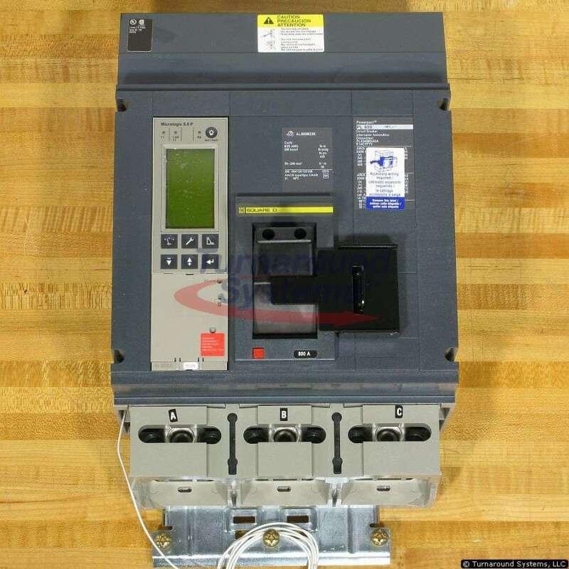 Square D Pla34080u63ae1acypyv Circuit Breaker, 800 Amp, 100 Kair, I-line, New!