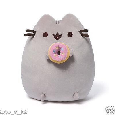 """Pusheen with Donut 9.5"""" Plush # 4048871 Gund  IN STOCK"""