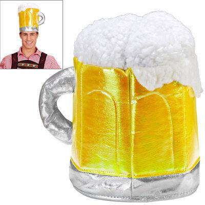 BIERKRUG HUT # Oktoberfest Bayern Mütze Bierglas Bierhut Bier Kostüm Party - Bierkrug Kostüm