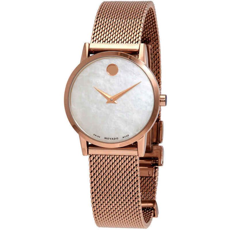 Movado Museum Classic Quartz Ladies Watch 0607352