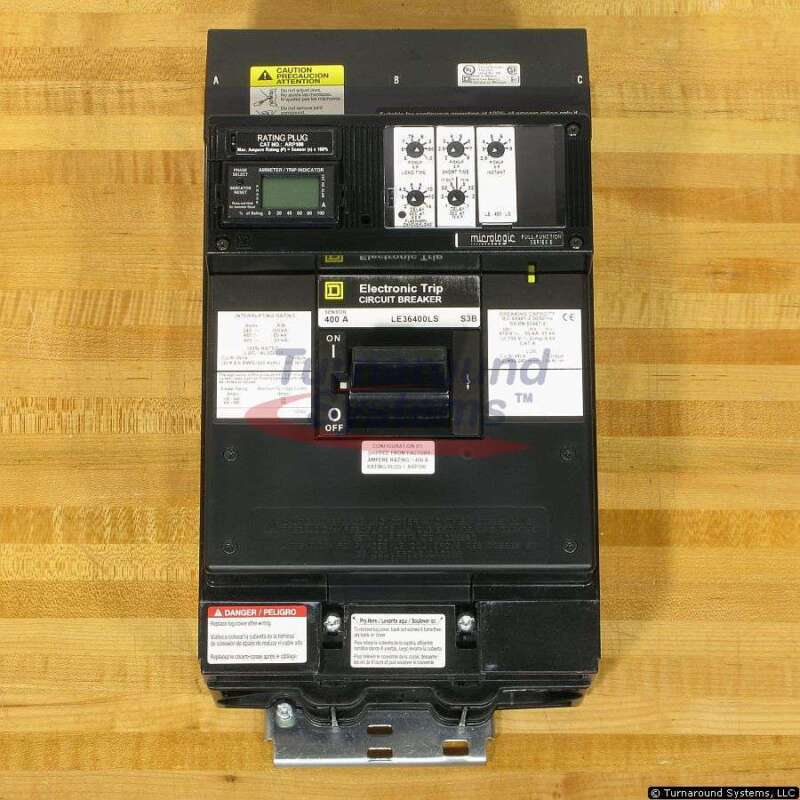 Square D Le36400ls Circuit Breakers, I-line, 100% Rated, New!