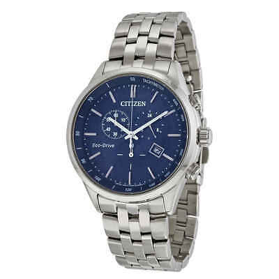 Citizen Sapphire Collection Blue Dial Men's Watch AT2141-52L