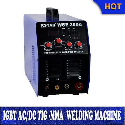 Igbt Welding Machine Acdc Tig Mma 200a Welding Aluminum Stainless Steeliron