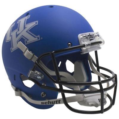 KENTUCKY WILDCATS ROYAL BLUE SCHUTT XP FULL SIZE REPLICA FOOTBALL (Blue Replica Football Helmet)