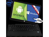 Woxter Zen Pad 10 Dual Boot (Windows and Android) Tablet With Keyboard