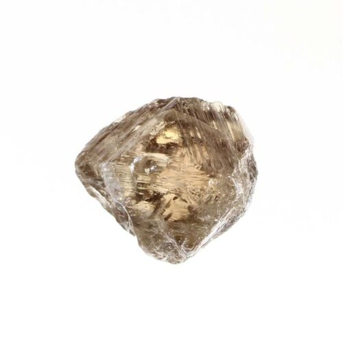 Marvelous Crystal 0.75 Carat Light Brown Color SI3 Clarity Natural Rough Diamond
