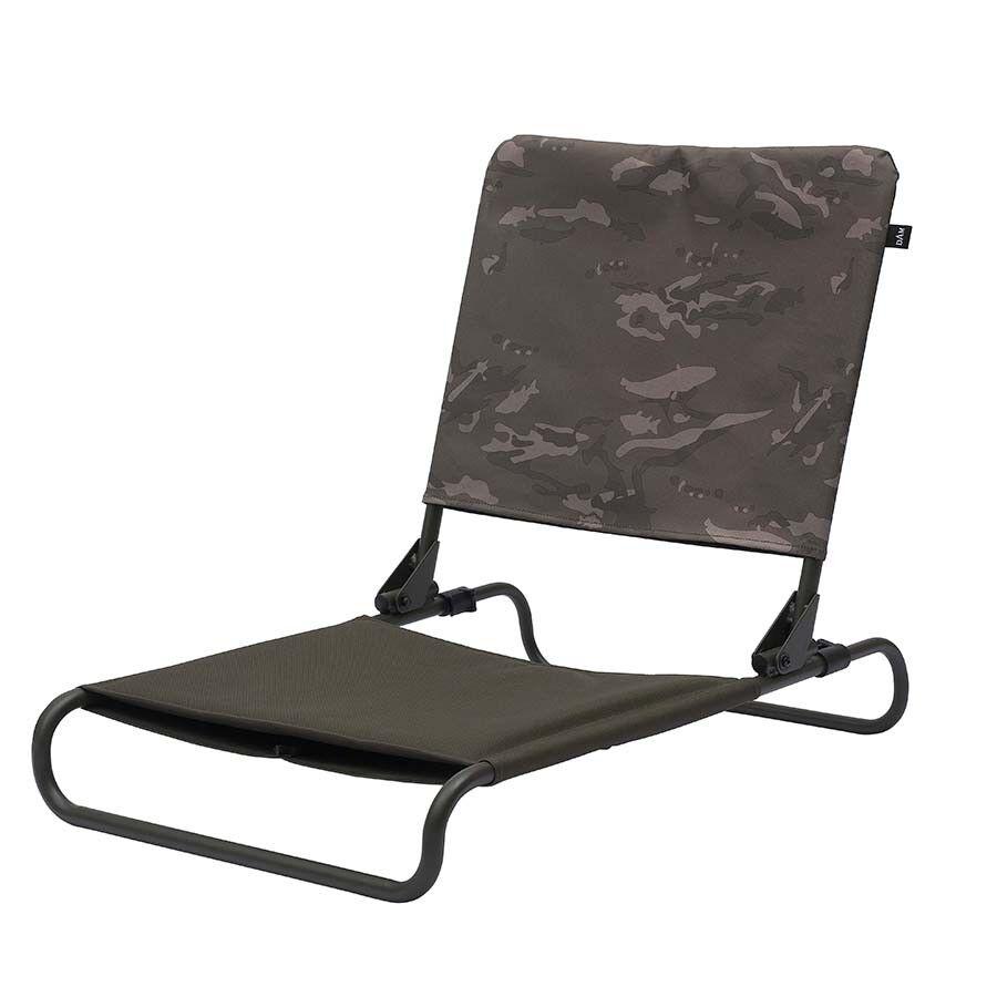 MAD DAM Adjustable Flatbed Chair Stuhl für Karpfenliege Camo
