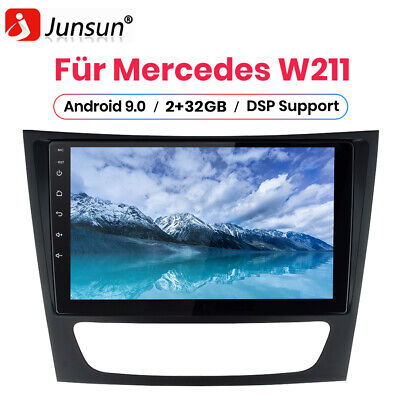 "9"" Android 9.0 Autoradio für Mercedes Benz E-Klasse W211 W209 DAB Bluetooth GPS"