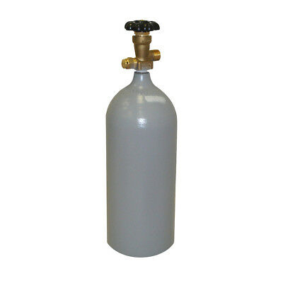 5 Lb Steel Co2 Reconditioned Cylinder Cga320 - Fresh Hydro Test - Free Shipping