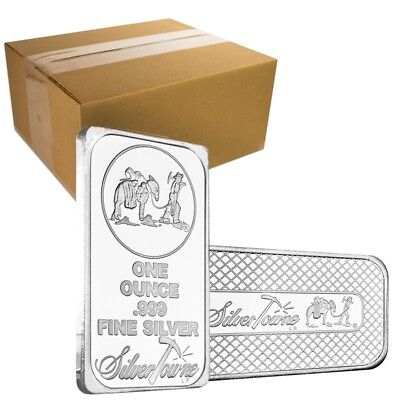 MONSTER BOX OF 500 - 1 OZ PROSPECTOR SILVER BAR .999 SILVER RANDOM DESIGN