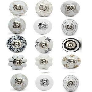 15pc mix and mach ceramic door knob cupboard drawer puller  Handle Furniture