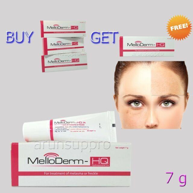 melloderm hydroquinone 2 hyperpigmentation melasma expigment bleaching cream 7g ebay. Black Bedroom Furniture Sets. Home Design Ideas