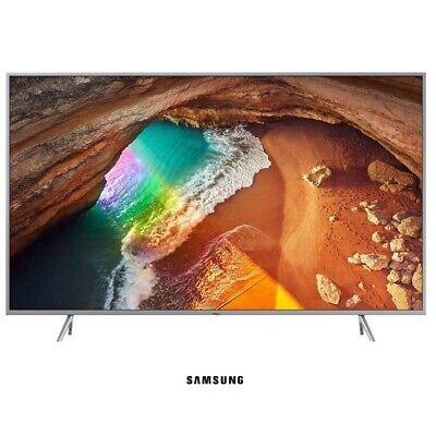 "TV SAMSUNG 4K QLED 65"" QE65Q64R Plateada"