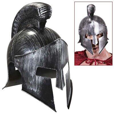 SPARTANER HELM Gladiator Legionär Römer Ritter Antike Rüstung Kostüm Party (Gladiator Helm Kostüm)