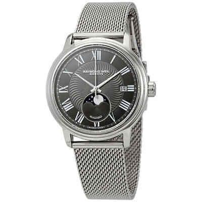 Raymond Weil Maestro Automatic Grey Dial Men's Watch 2239M-ST-00609