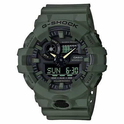 Casio G-Shock Analog/Digital Watch Olive Green Resin GA-700UC-3A / GA700UC-3A