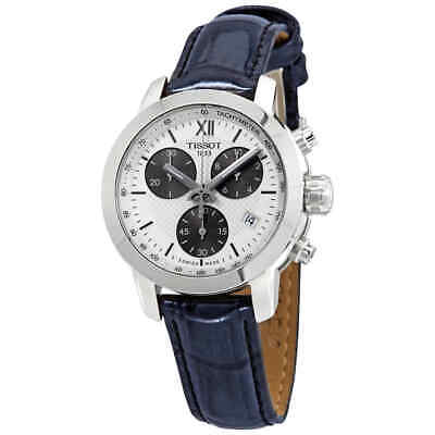 Tissot PRC200 Chronograph White Dial Ladies Watch T0552171603800