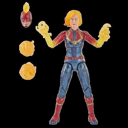 Binary Version Marvel Legends Captain Marvel New /& MISB