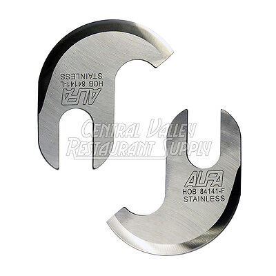 Buffalo Chopper Blades 8142 And 84141 For Hobart Part 17908 1790 14 Bowl
