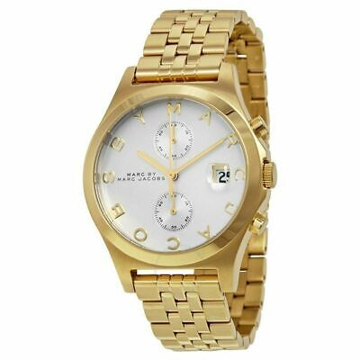 Marc by Marc Jacobs MBM3379 Gold-Tone Stainless Steel Watch Women & Men W/ Links