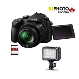 Panasonic Lumix FZ1000 Black Friday Kit  TOSHIBA 64GB U3 CARD,   METZ MECALIGHT 320