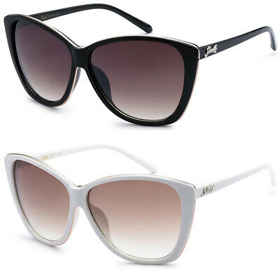 Oversized Big Cat Eye Fashion Designer Sunglasses Women Ladies Teen Girl (Cat Glasses)