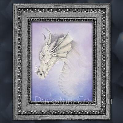 Mystical Spirt Dragon - Medieval Fantasy Art Print - Darkstars Creation