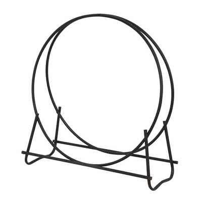 - Uniflame Black 40' Diameter Log Hoop - W-1881