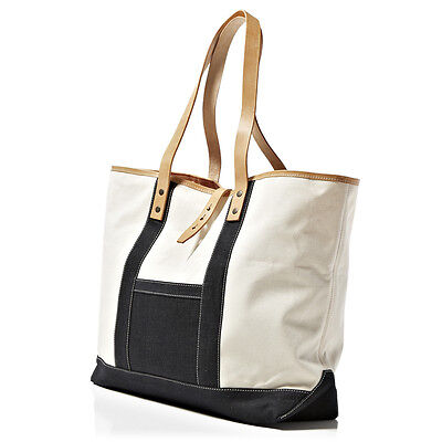 LEVI'S MADE AND CRAFTED DUO TOTE ECRU RRP £205