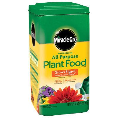 (Miracle-Gro Garden Feeder Water-Soluble 5-lb Indoor Outdoor Flower Plant Food)