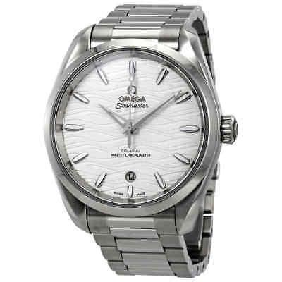 Omega Seamaster Aqua Terra Co-Axial Master Chronometer Automatic Silver